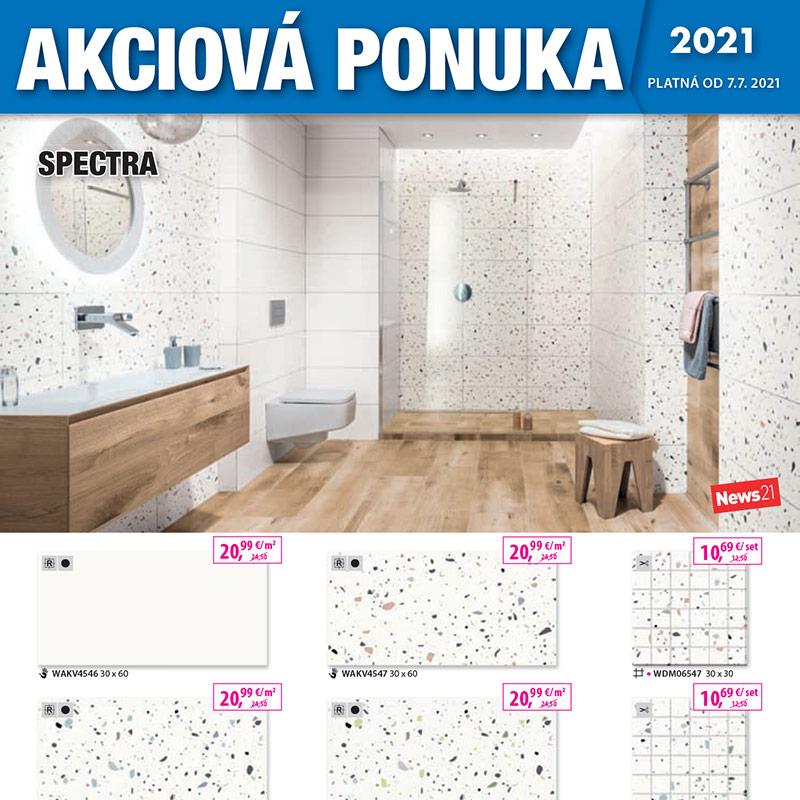 Akcia – Obklady a dlažby, kúpeľne, sanita – 2/2021