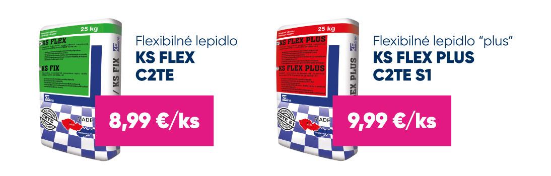 Akcia - KS Line - Flexibilné lepidlo