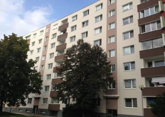 Fasády - Obnova bytového domu - ul. Hornádska, Bratislava - obrázok 4