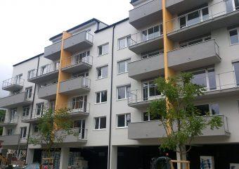 Fasády - zateplenie bytový dom Krasňanský, Bratislava - obrázok 3