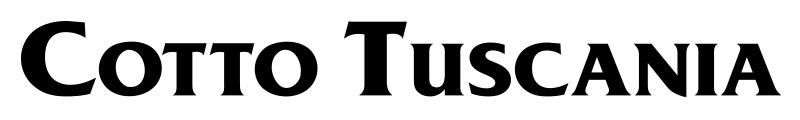 Cotto Tuscania - logo - obklady a dlažby
