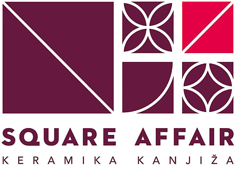 Square Affair - Keramika Kanjiža - logo - obklady a dlažby