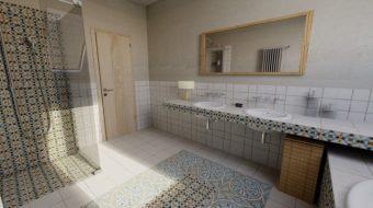 Služby - Grafický návrh kúpeľne