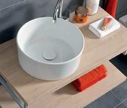 Výpredaj - JIKA CUBITO PURE - umývadlo na dosku 43x43 cm
