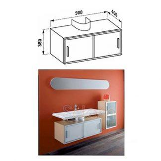 vypredaj laufen living skrinka pod umyvadlo 380x900x400