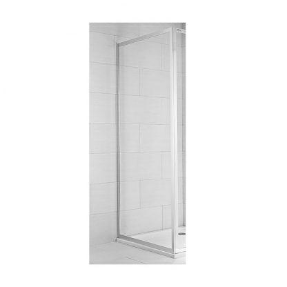 JIKA CUBITO PURE - Pevná stena 80 cm, satén/transparent (výpredaj)